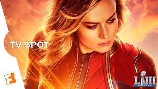 Capitana Marvel - TV Spot 'Super Bowl' (Sub. Español)