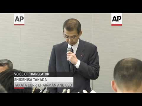 Takata Announces Bankruptcy Protection Filing