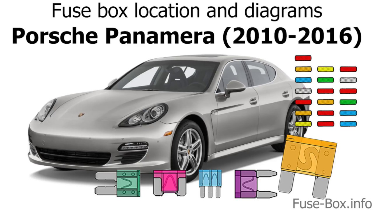 Fuse Box Location And Diagrams  Porsche Panamera  2010-2016