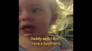 SabWap CoM Little Girl Is Pretty Darn Sure She Has A Boyfriend