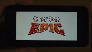 Angry Birds Epic iPhone 5 iOS 7.1 Final HD Gameplay Trailer