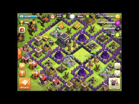Clash of Clans - Level 7 Army Camps + High Level Attacks!