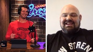 'EVERYONE CAN GET STRONGER!' (Brian Shaw Uncut)   Louder With Crowder