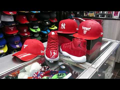 Nike Air Jordan 11 Gym Red, at Street Gear Hempstead NY