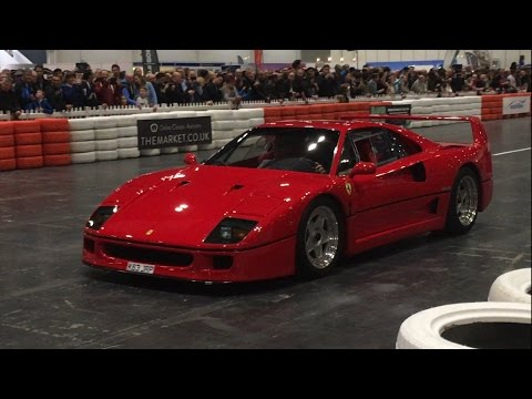 Ferrari 70th Anniversary Parade - Drifting a Ferrari F1 Car, Enzo, F40, Dino, 330 Shooting Brake