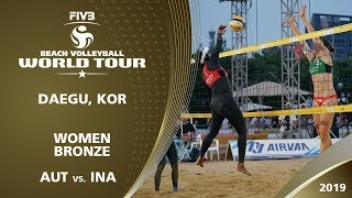 Women's Bronze Medal: AUT vs. INA | 1* Daegu (KOR) - 2019 FIVB Beach Volleyball World Tour