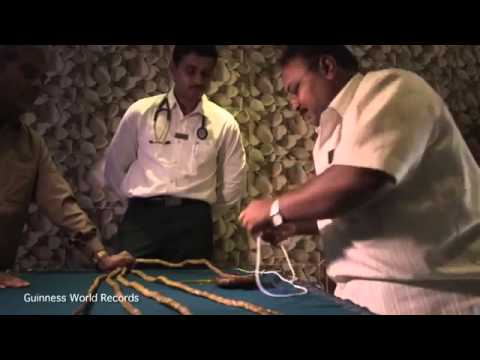 Shridhar Chillal Awarded Record For Worlds Longest Nails