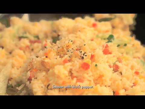 Home Foodie - Easy Salted Fish Rice