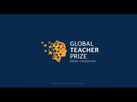 Ceremonia Global Teacher Prize 2016 subtitulado