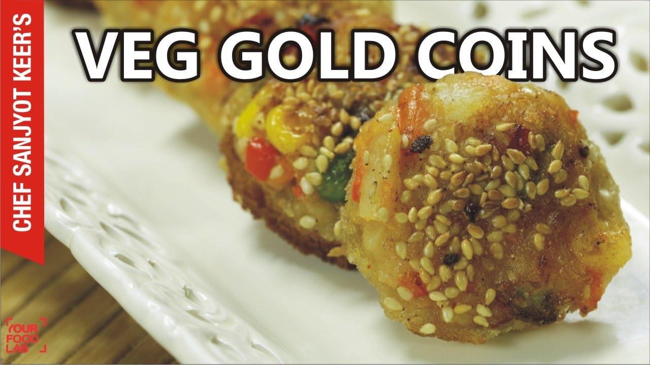 Veg gold coin recipe vegetable gold coins chinese gold coins