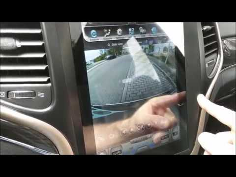 Jeep Grand Cherokee Tablet Tesla Style Head Unit Review