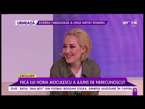 Nidia, fiica lui Horia Moculescu, a ajuns de nerecunoscut! A luat în greutate şi are un nou look!