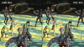 Final Fantasy XIII PS3/360 Frame-Rate Analysis