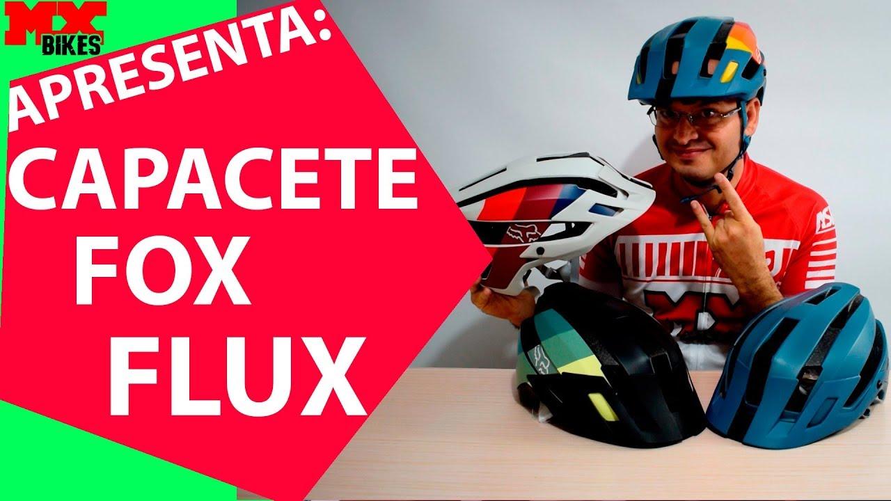 f2ce96579 Mx Bikes Apresenta  Capacete Fox Flux 18 - YouTube