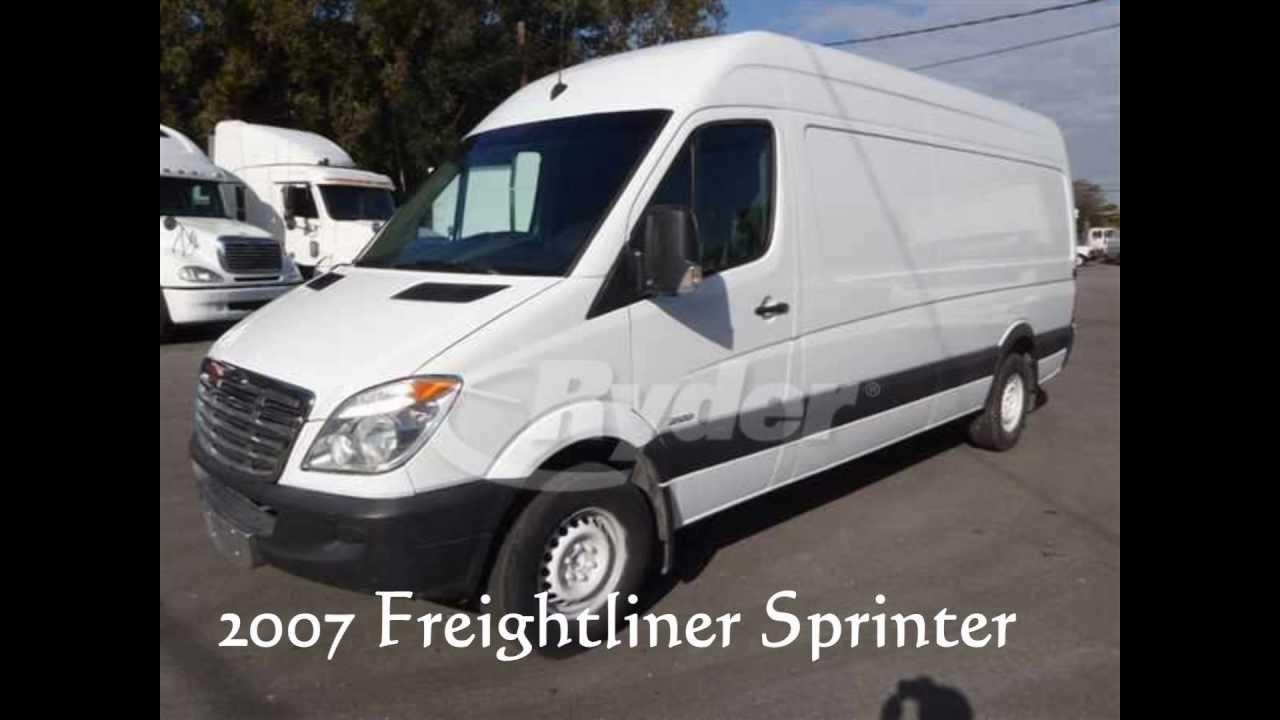 2007 freightliner sprinter van for sale