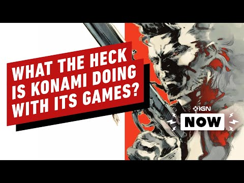 Is Konami Really a Video Game Company Anymore? - IGN Now Opinion