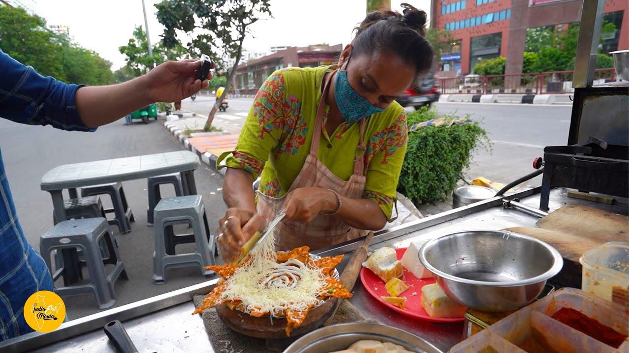 Surat Famous Maharaja Paratha Rs.250/- Only l आपने ऐसा पराठा कभी नहीं खाया होगा l Surat Food