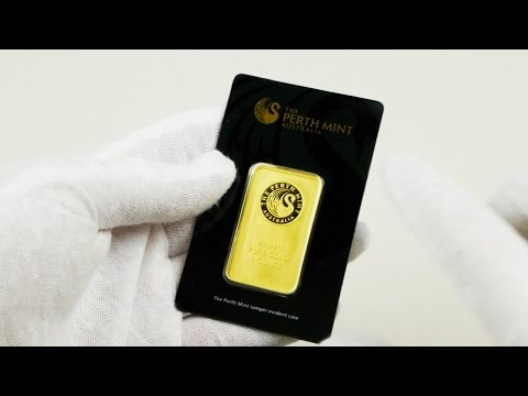 Australian Perth Mint 1 oz Gold Bar Unboxing!