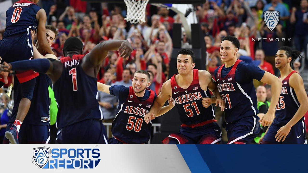 Highlights: Arizona men's basketball claims 2017 Pac-12 ...