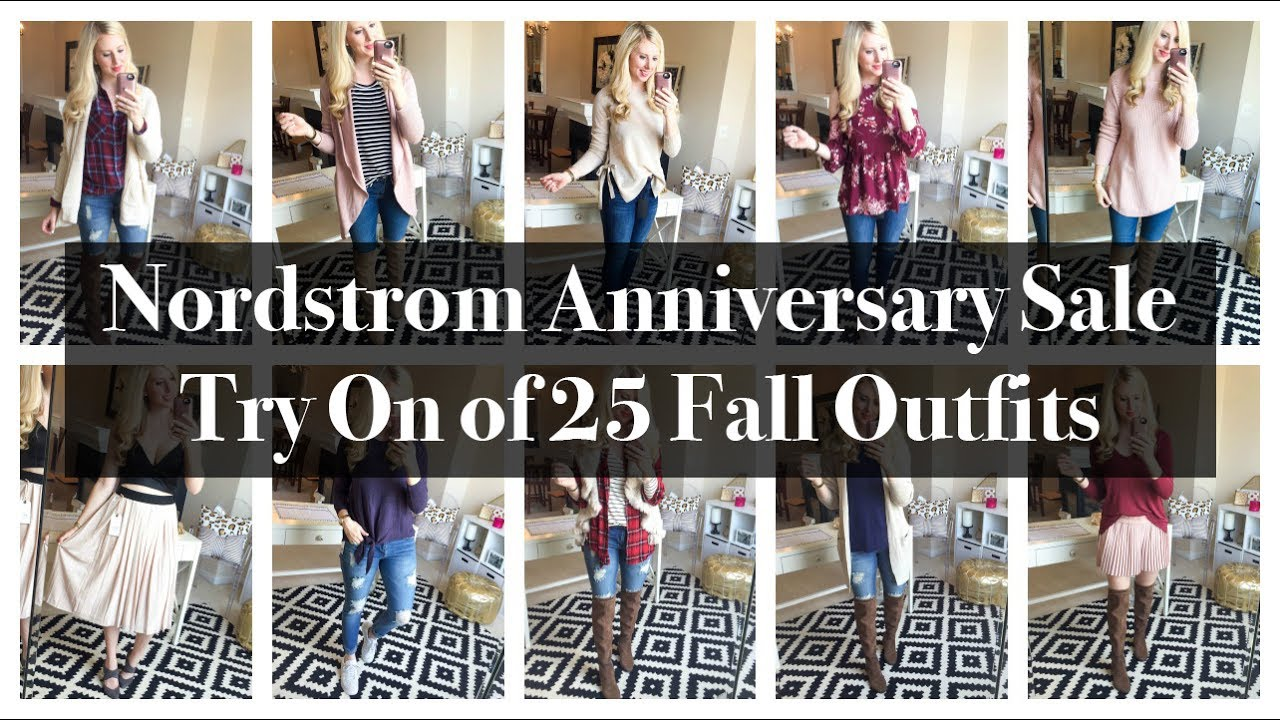 [VIDEO] - Nordstrom Sale Try On of 25 Fall Outfits 1