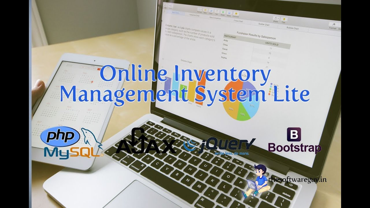 Online Inventory Management System Lite using PHP MySQL and Bootstrap