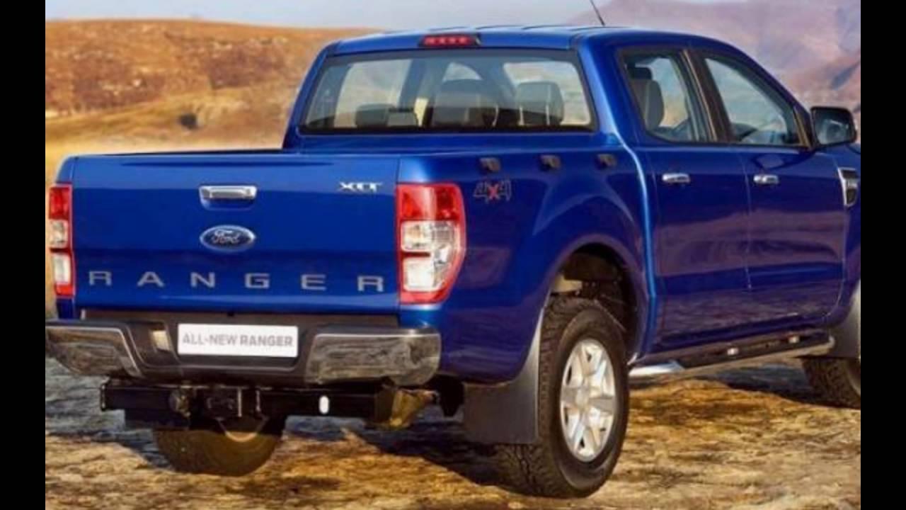 2016 Ford New Ranger Performance Blue