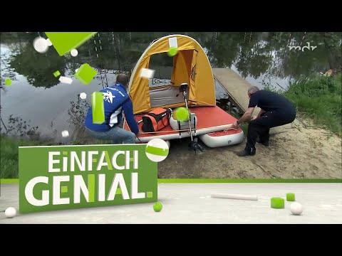 Aufblasbares Hausboot | Einfach Genial | MDR