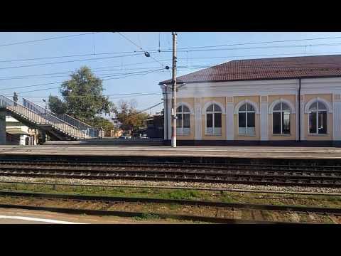 Станция Чертково. На поезде у самой границы с Украиной. 2016 год