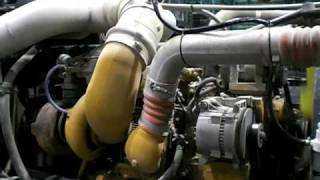 Hybrid Semi Truck Test Install with Only 4 lpm,