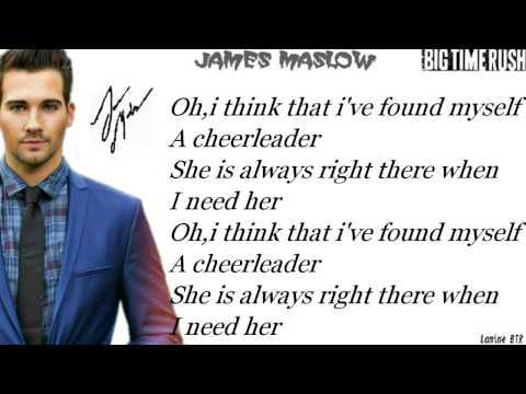 Cheerleader -James Maslow ft. Tiffany Alvord & Megan Nicole Lyrics