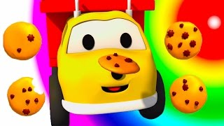 The Cookies : Learn Numbers with Ethan the Dump Truck | Educational cartoon for children