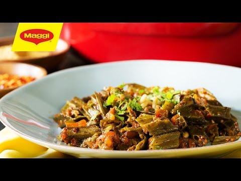 MAGGI Recipes: Bamieh Be Zeit وصفات ماجي:  باميه بزيت