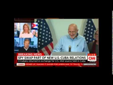Nelson reacts to Alan Gross's release on CNN