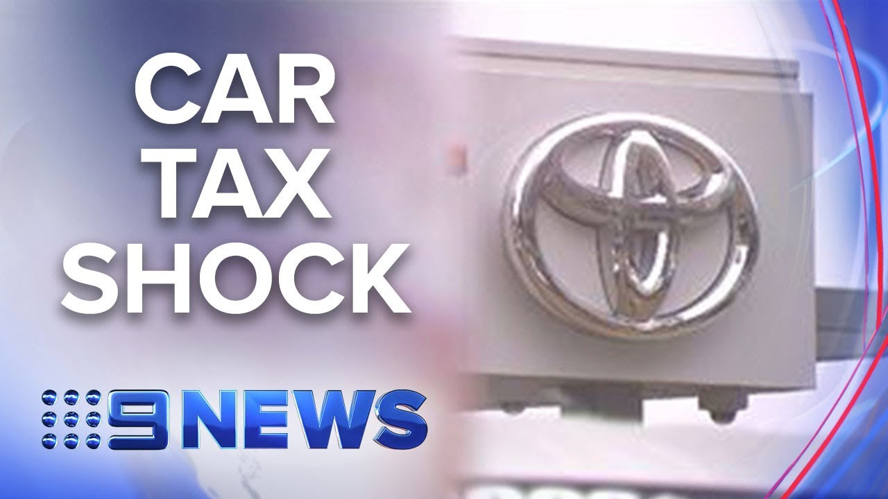 The luxury tax you pay on everyday cars | Nine News Australia