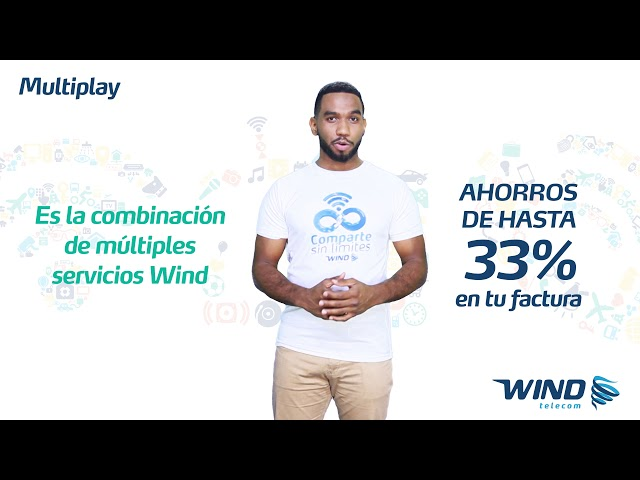 Servicio Multiplay Wind Telecom