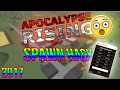 AMAZING ROBLOX Exploit Hack APOCALYPSE RISING UNLIMITED ITEMS NEW 2017 mp3