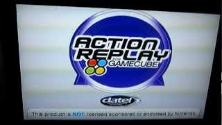 Using your Action Replay Gamecube.
