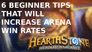 beginner tips for more arena wins hearthstone tutorial