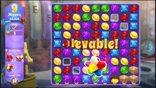 Wonka's World of Candy Level 251 - NO BOOSTERS + FULL STORY ???? | SKILLGAMING ✔️