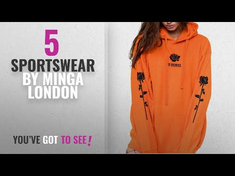 Top 10 Minga London Sportswear [2018]: MINGA LONDON No Enemies Hoodie Sweater Jumper Sweatshirt Top