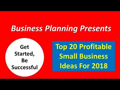 Top 20 profitable small business ideas for 2018