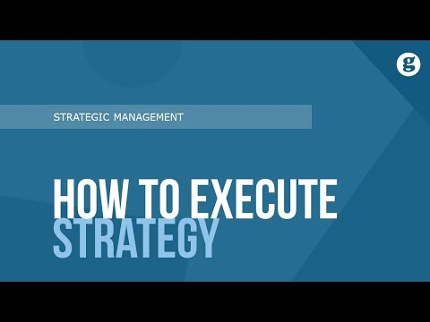 How to Execute Strategy