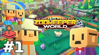 Apple Arcade: Zookeeper World - Match-3 Puzzle & Zoo Building Gameplay Walkthrough Part 1