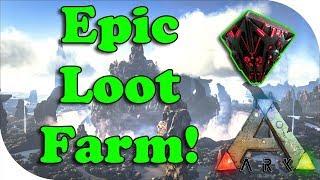 Ark Survival Evolved ~ The Center ~ Easy Epic Loot Farm