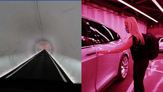 My first ride in the Boring Tunnel Loop in Las Vegas