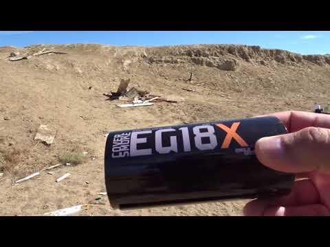 Smoke Grenade Testing