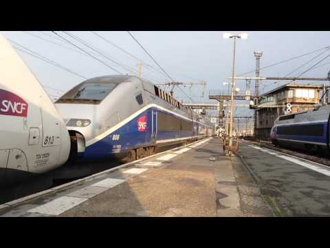 Gare de Clamart + Paris Gare de Lyon soir