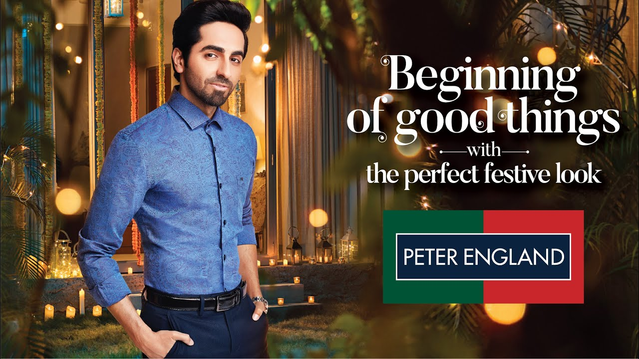 Celebrate Diwali with Peter England and Ayushmann Khurrana