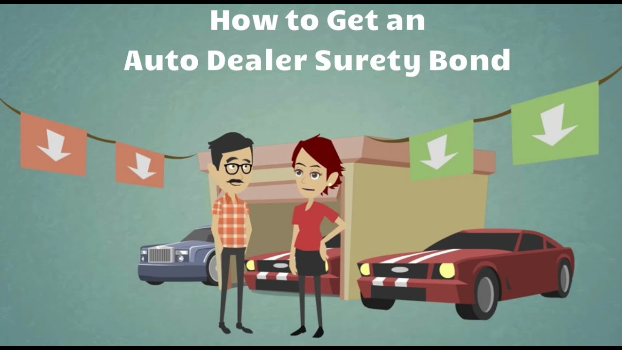 How to get an auto dealer surety bond youtube for Motor vehicle surety bond