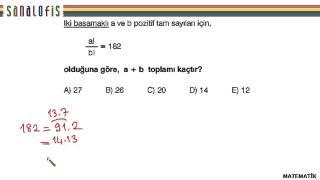 Fem ygs 2 soru çözümleri matematik soru 27